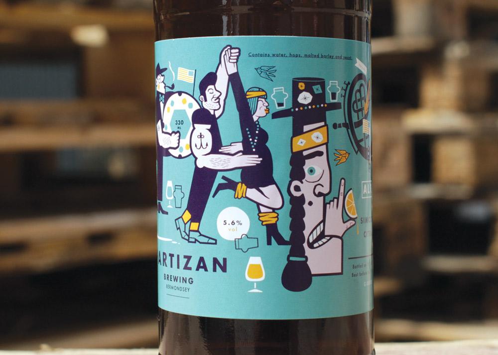 A Delicious Storm: Partizan Brewing