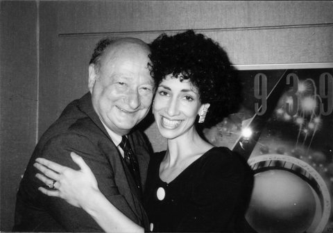 Rozanne Gold with Mayor Ed Koch, 1980