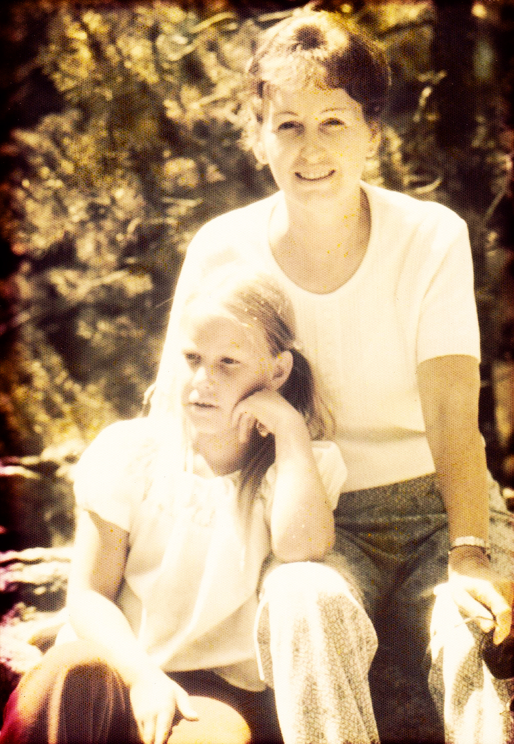 A photo of Adrienne and Mum