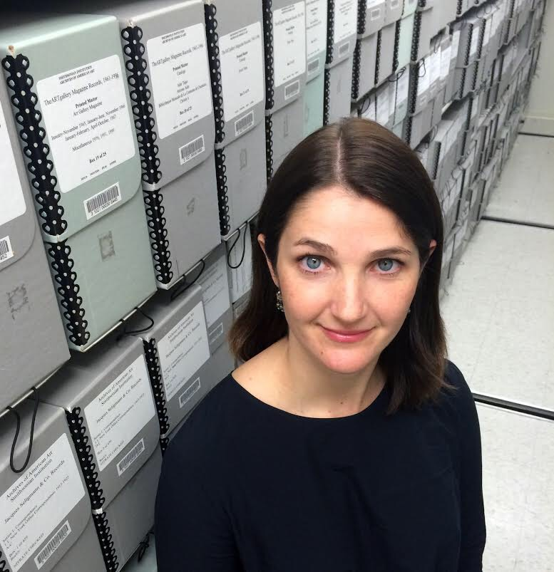Mary Savig, Curator of Manuscripts, Smithsonian Archives of American Art