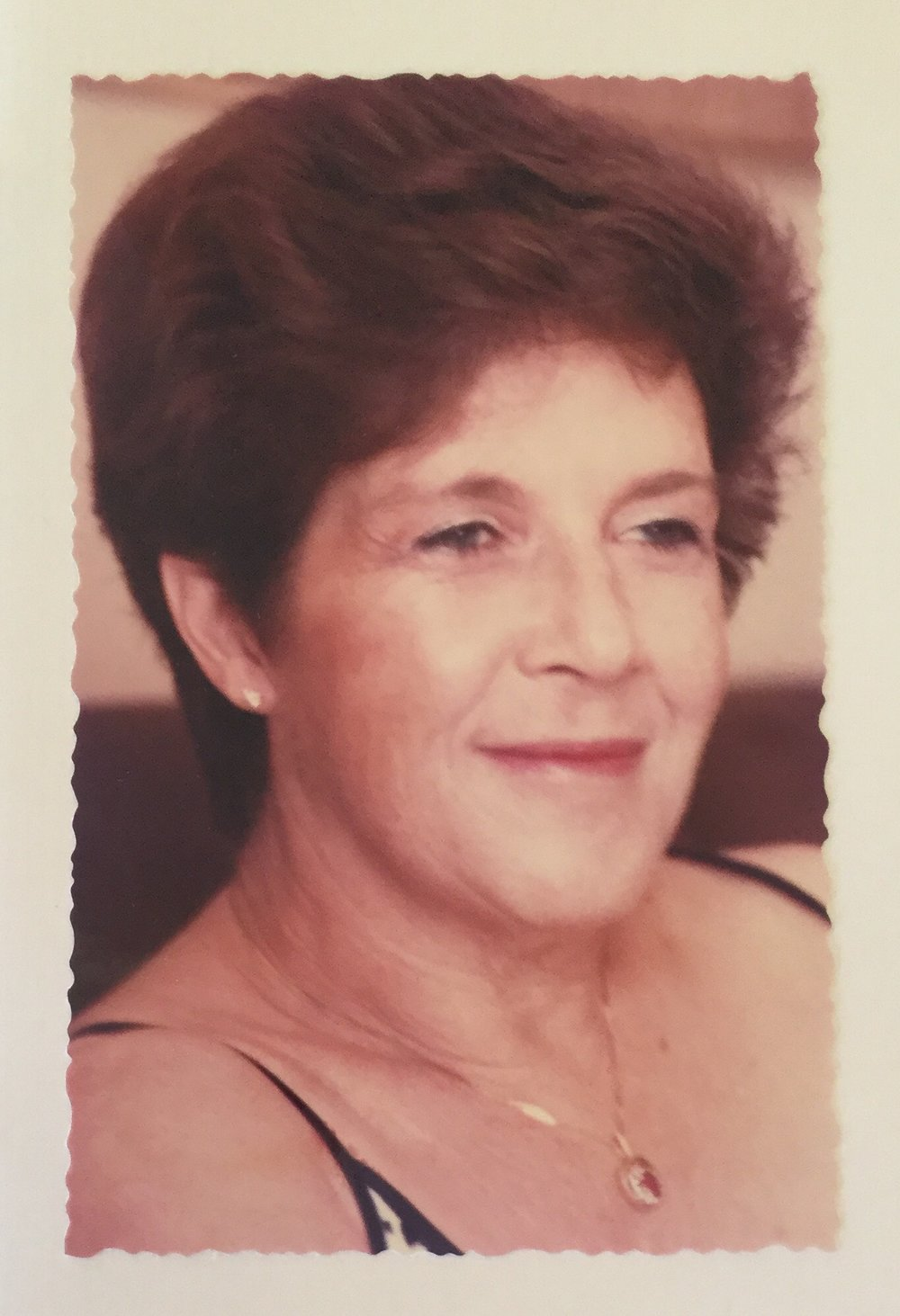 A Photo of Charlene's mother, Gwen Beinart