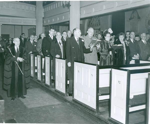 1948 -General Eisenhower at Christ Church