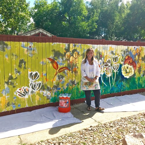 Wonderland Mural Boulder Co Catherine Pistone Art