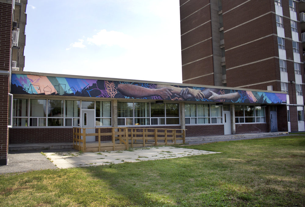 Mural for the Bellevue Community Centre