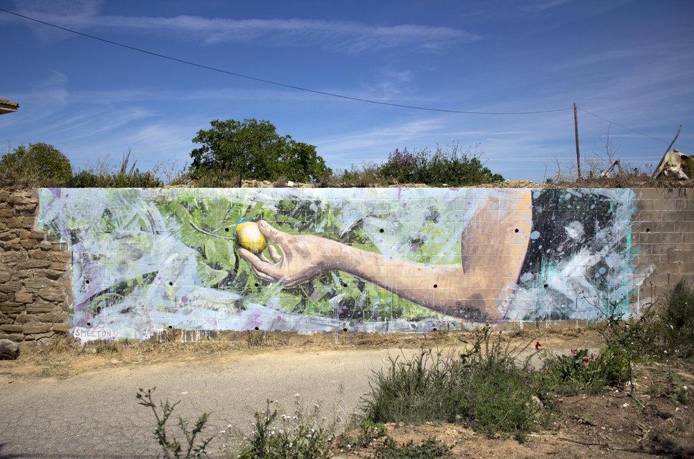 Mural for GarGar Festival