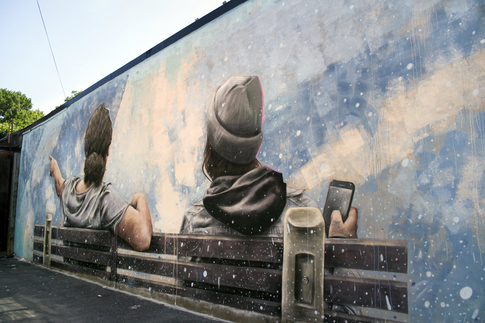 Mural for the Glebe BIA
