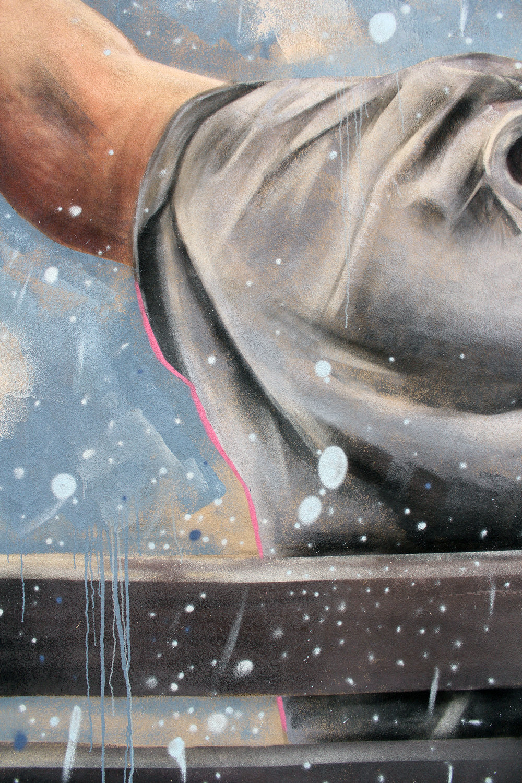 Mural for the Glebe BIA (detail)