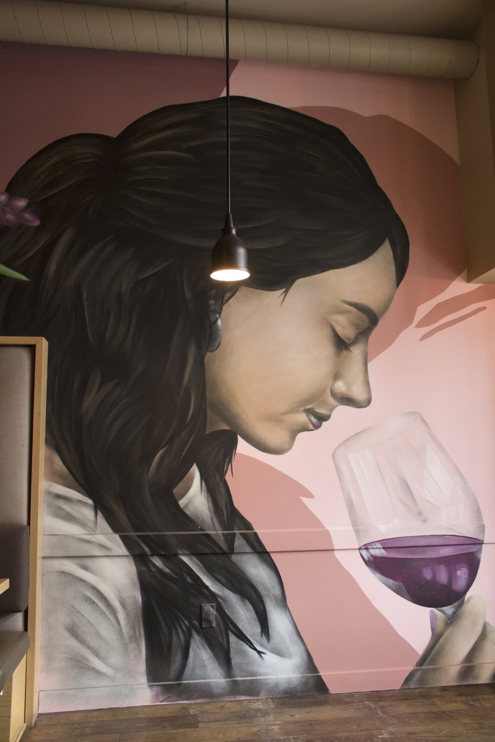 Mural for Nosh Restaurant (detail)