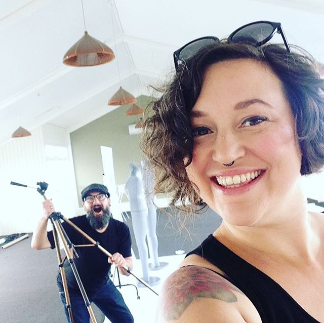 Making a music video all weekend in Christchurch! With my amazingly talented friend Jaya Gibson. Who happens to also have done the graphic design for the new album. @gibsoncreativemarketing #musicvideo #newmusic