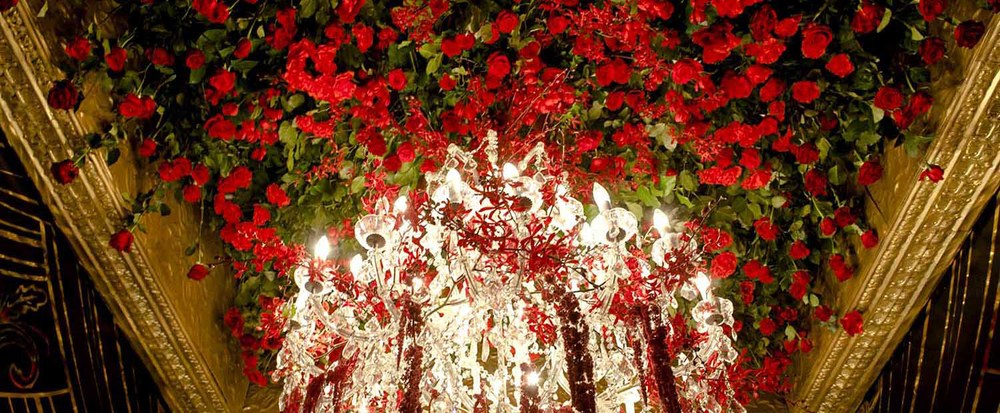 CEILING OF ROSES