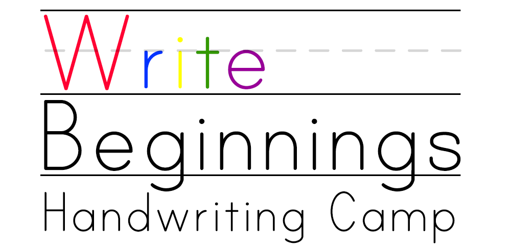 Write Beginnings Handwriting Camp