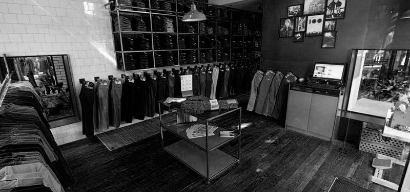 Nudie Jeans shop in Brisbane, Australia.