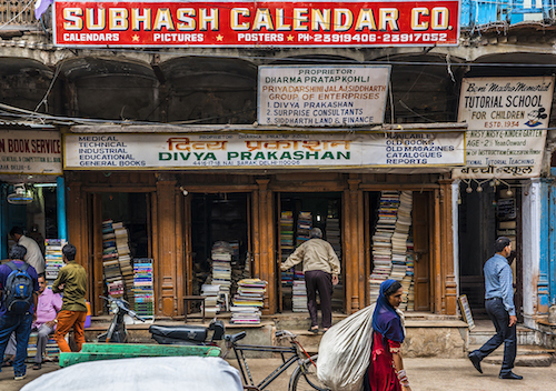 Chandni Chowk, Old Delhi.