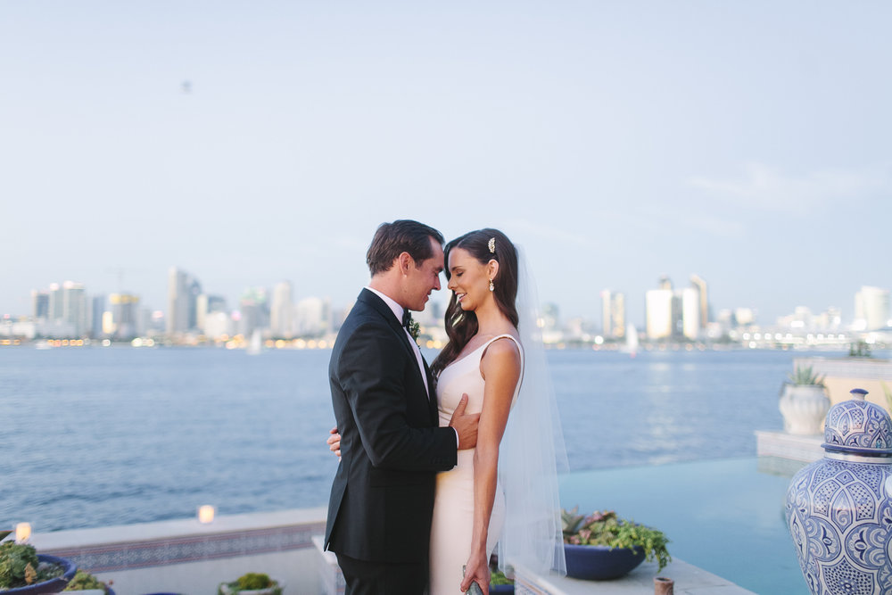 Blair & Kelley | Coronado Private Estate Wedding