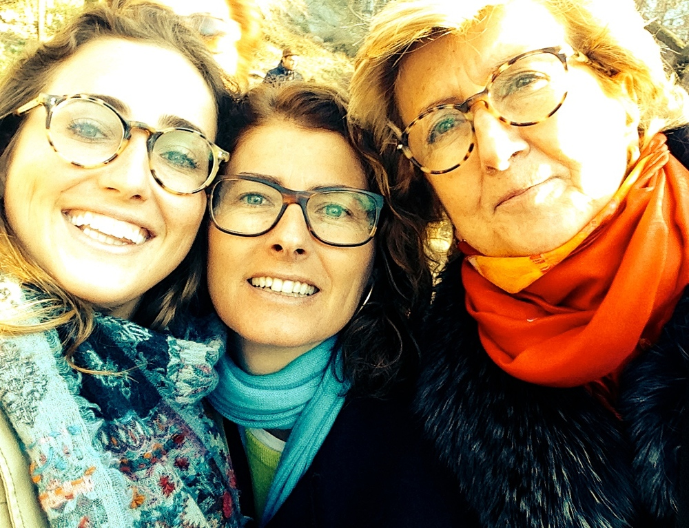 Glasses run in my family...tortoise shell glasses that is. (left to right: SEE, Dolce&Gabbanna, Persol).