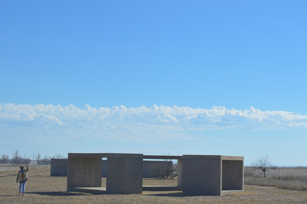 Donald Judd Exhibition at the Chinati Foundation in Marfa, Texas