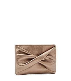 ** This cute clutch can go with any of the dresses. (Except for the one with the silver shoes ;))