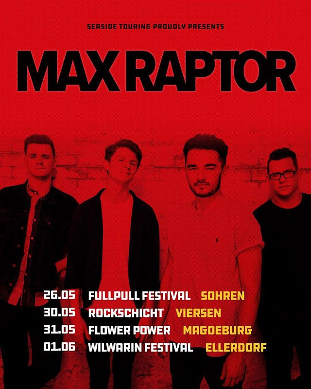 GERMANY // We're coming back for a short run at the end of May! Get your tickets now!