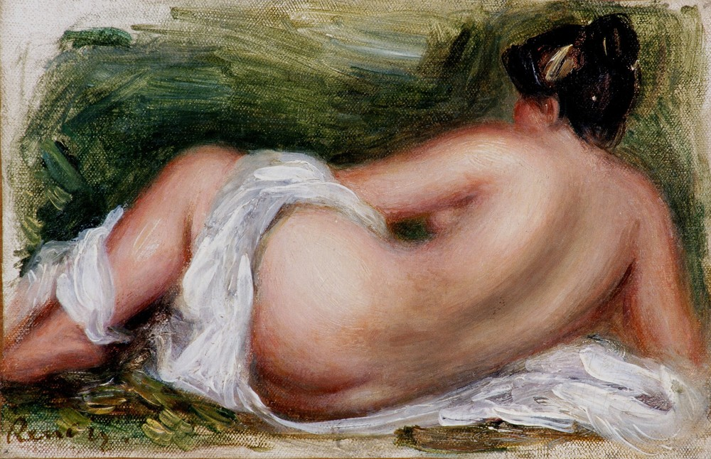 Nu Couché, vu de dos (Reclining Nude from Back), c. 1893