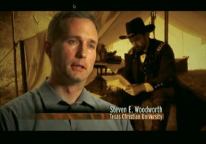 Steve Woodworth speaks in the PBS Documentary Civil War: The Untold Story.