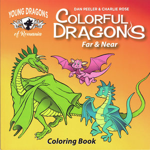 Young Dragons of Romania: Storybook and Coloring Book Set — The Old ...