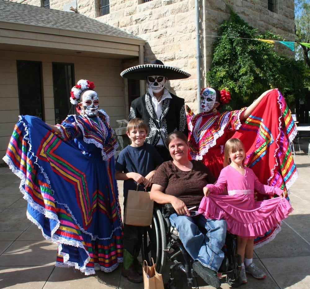 Folklorico Dance Performances at Dia de los Muertos Festival