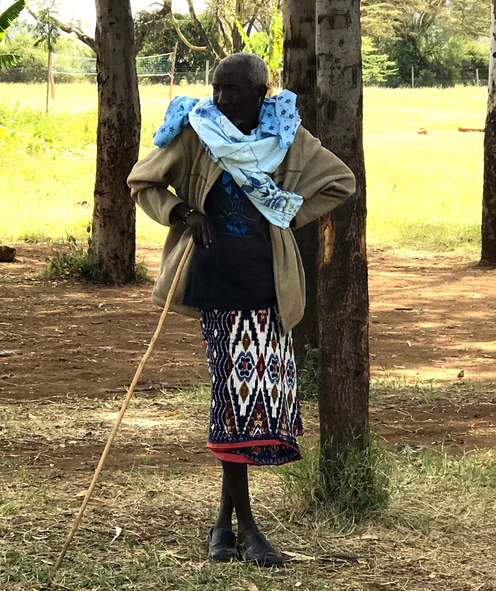 One of my favourite photos from the outreach: maybe the most stylish man in Kenya!