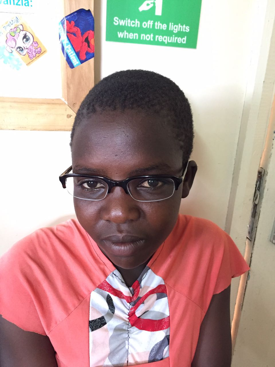 Looking smart with your new specs! On the day after the outreach, three young patients (students) came to Lewa for follow-up treatment and were able to walk away with the right prescription and lenses