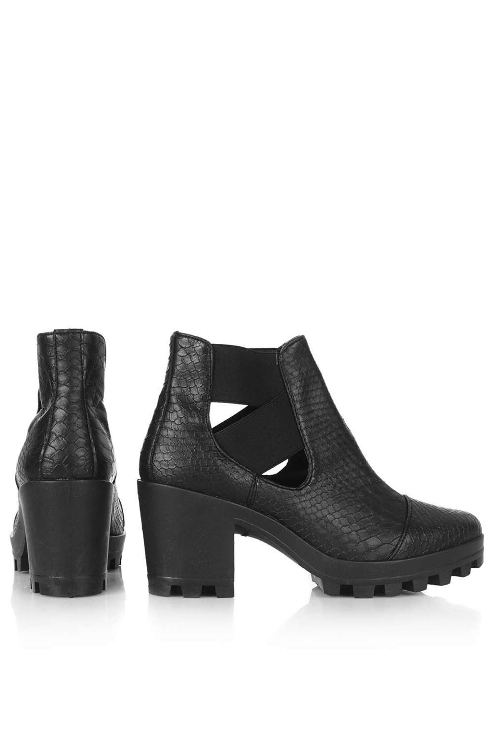 "Topshop ""BOSTON"" cutout boots"