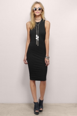 Taking Sides Midi Dress - $57
