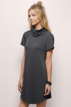 Tori Turtleneck Shift Dress - $57