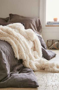 Faux Fur Throw, $94 (Urban Outfitters)