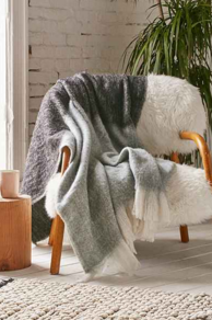 Wooly Fringe Throw, $82 (Urban Outfitters)