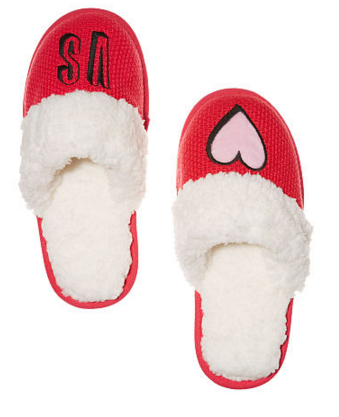 Embroidered Cozy Slipper, $30 (Victoria's Secret)