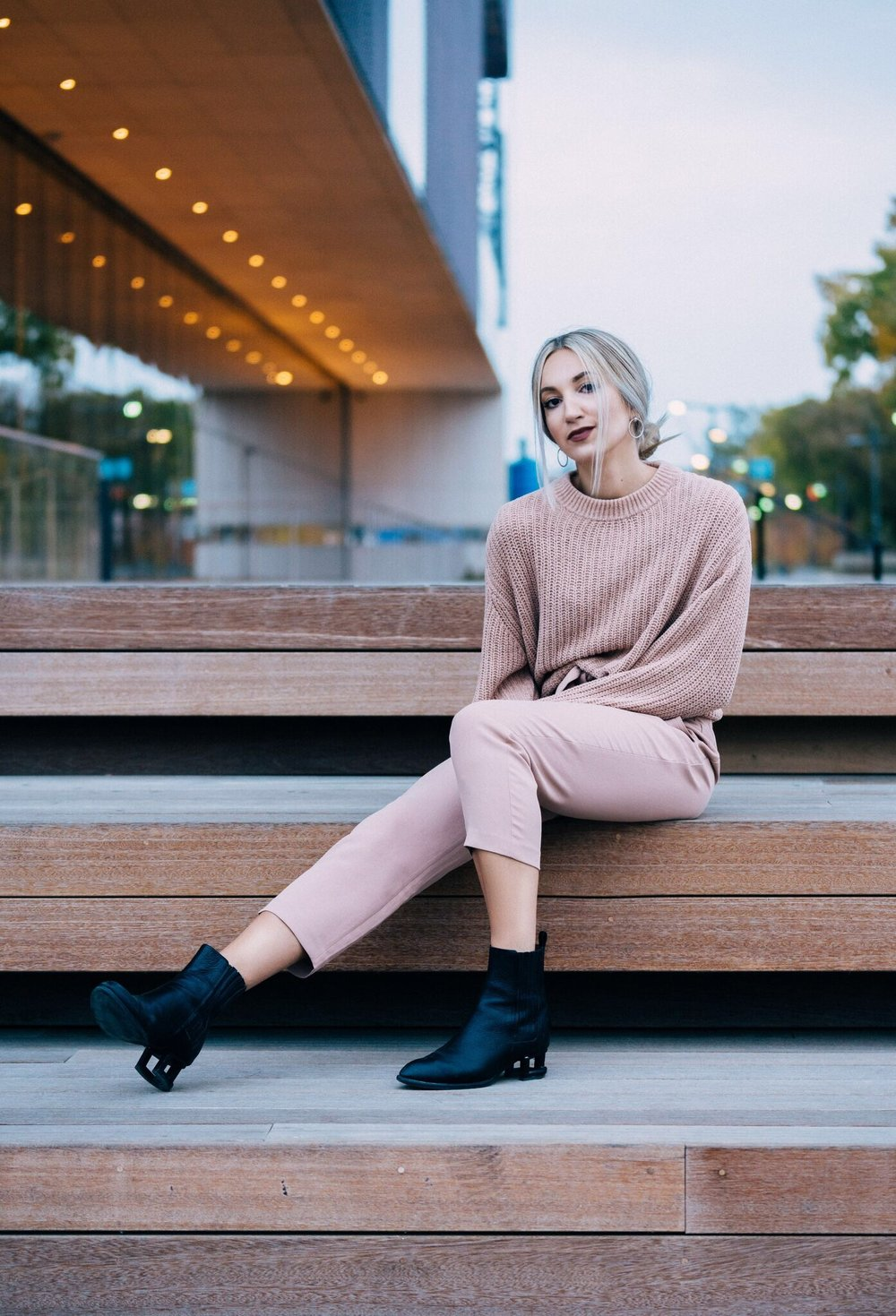 aritzia ootd brittany laurén brittanylaurens saskatoon fashion blog canada inspiration outfits fall