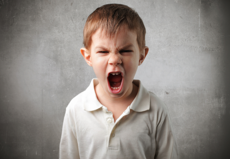 Child angry
