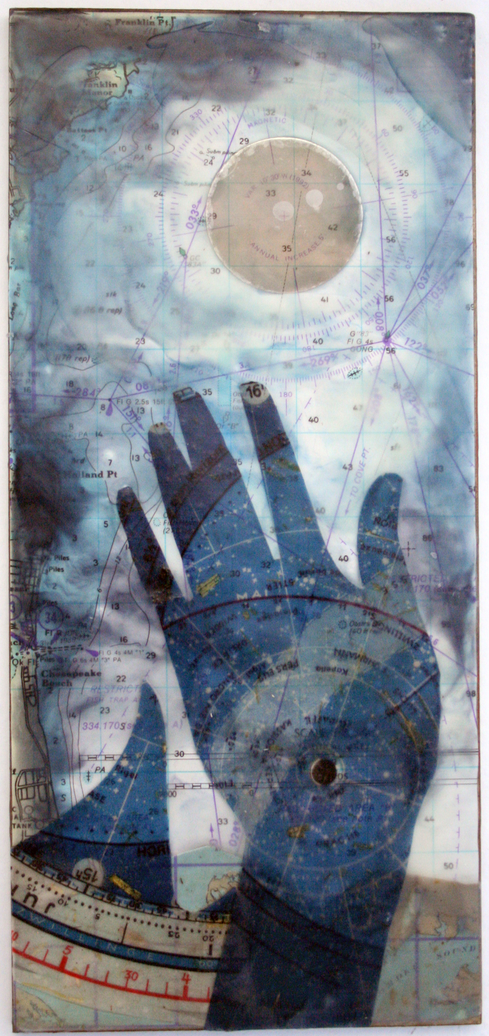 Mixed media work by Catherine Nash