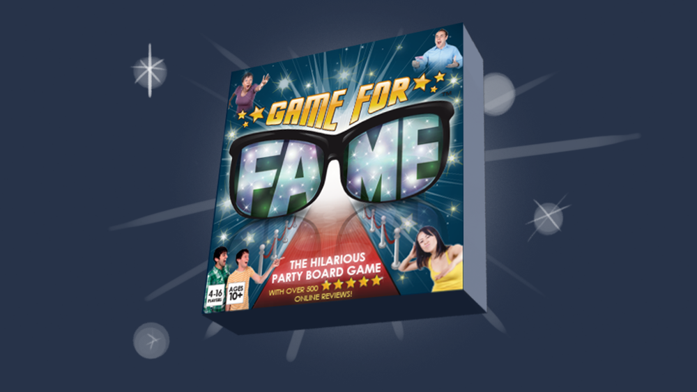game for fame pack shot