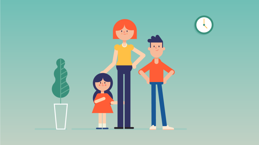 character design- hero family