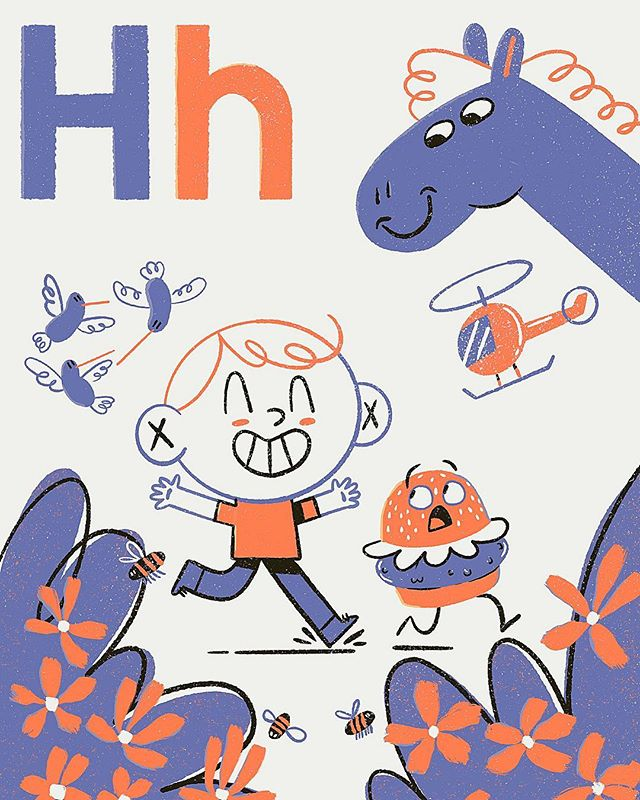 H is for Harrison . . . . . #designer #illustration #illustrator #nothingisordinary #artsy #procreate #procreateartist #freelance #artstagram #itsnicethat #supplyanddesign #dinosaur #dino #dinoart #timelapse #alphabet #procreatebrushes