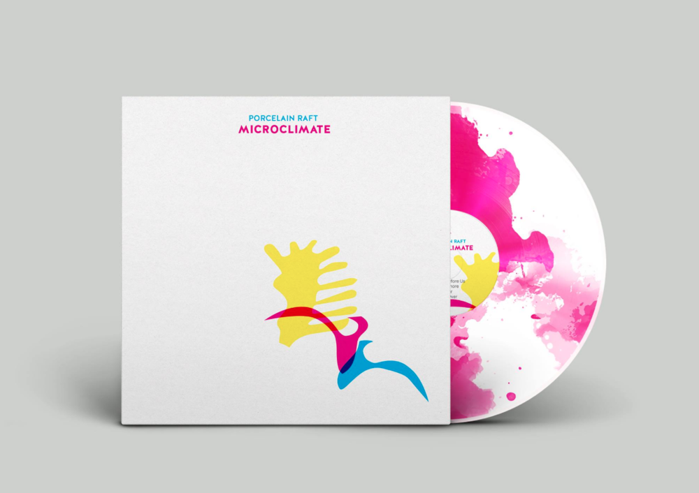 MICROCLIMATE color vinyl limited edition SOLD OUT, digital on SHOP or go  HERE!