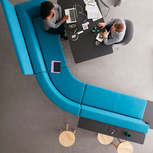Keilhauer Hangout Collection, Juxta table