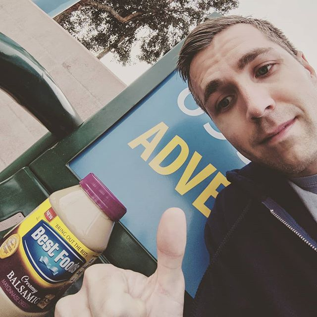 Hell yeah! Someone left their balsamic mayonnaise at the bus stop. Who wants to come over and have a balsamic mayo sandwich party? . . . . . #Balsamic #Mayo #Selfie #Mayonnaise #Bus #Stop #BusStop #BalsamicMayo #Cat #Dog #Bench #Sandwich #SandwichParty #MayoParty