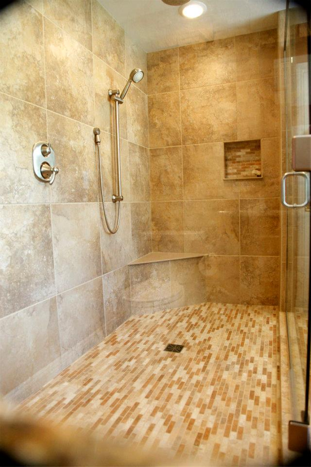 Built In Shower Accessories United Floor Covering