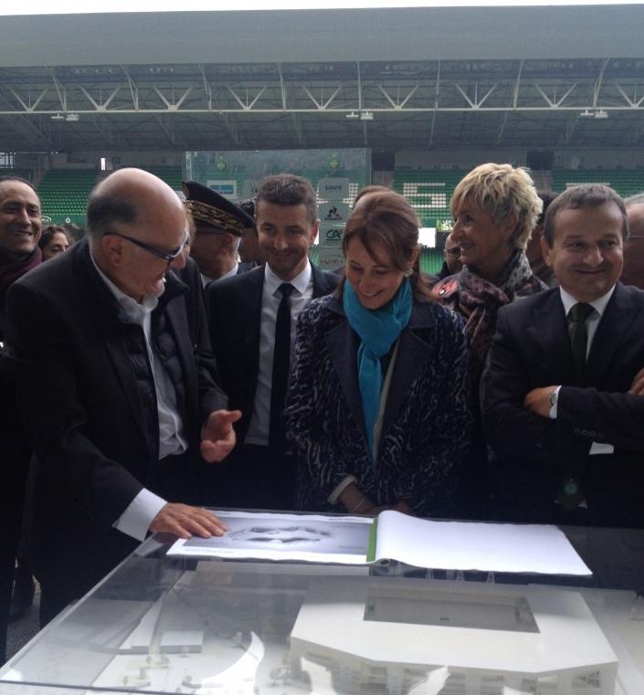 Stade Geoffroy Guichard - Inaguration2.jpg