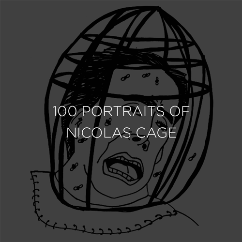 100 Portraits of Nicolas Cage
