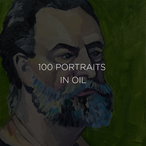 100 Portraits in Oil