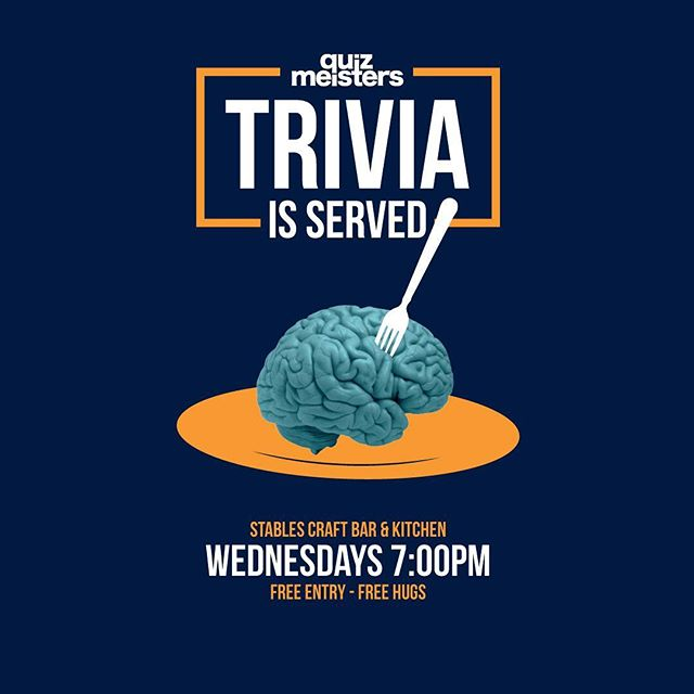 ❗️❗️WIN $100 VOUCHER❗️❗️ 💥 PLUS OTHER AWESOME PRIZES 💥 Visit The Stables Craft Bar in Ascot this Wednesday night at 7pm and have a blast playing the worlds least worst pub trivia. Awesome fun, friendly people & delicious food. Prizes & Giveaways every Wednesday. Get you crew together and come join the fun. #stablescraftbar #ascot #quizmeisters #racecourserd #trivia #craftbeer #goodfoodandwine #brisbanefoodie #discoverbrisbane #trivianight #brisbane #brisbaneeats