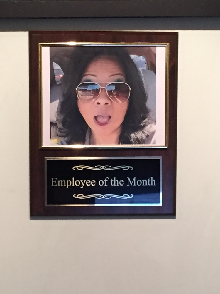 August Employee of the month — LMNO