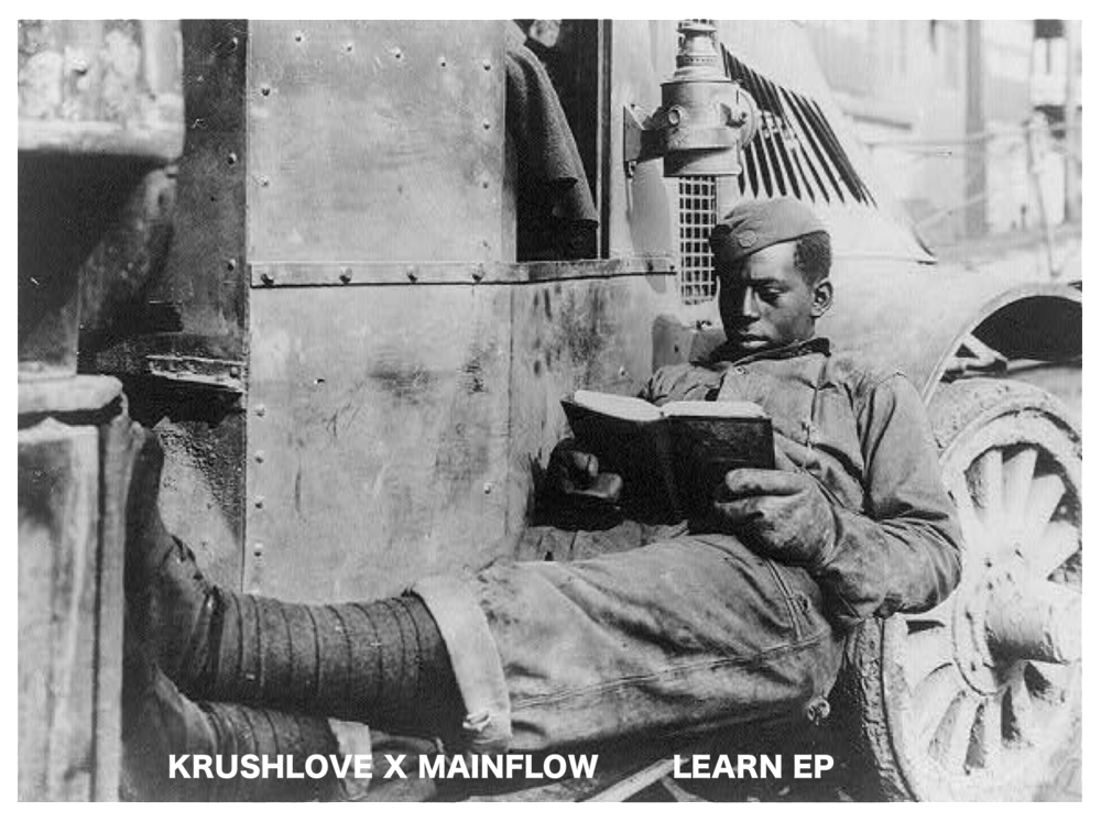 New EP from krushlove x mainflow 'Learn How to Love'. Art Design by the kaLsio Collective will be different for each physical format and will rotate for the first month after release.